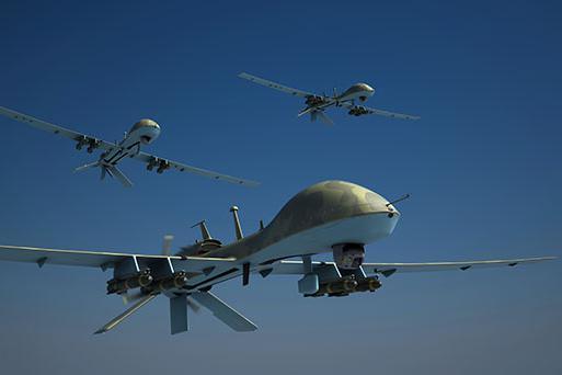 军用无人机