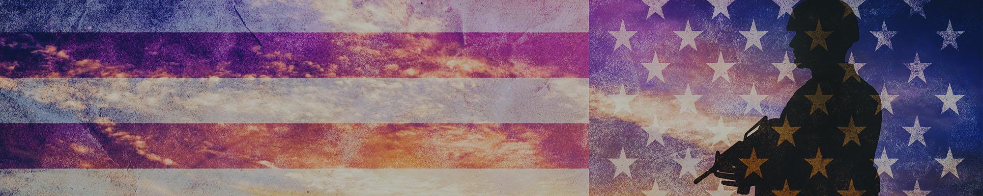 军队的旗帜